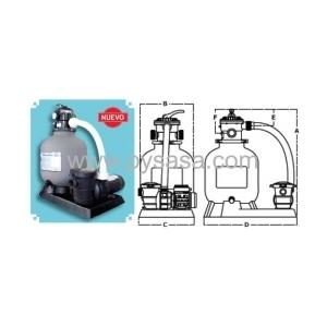 Sistema de Filtración Pacific Modelo 190TP-1