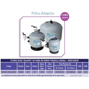 Filtro Atlantic 36