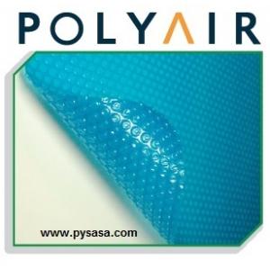 Cubierta Solar de Burbujas/Polyair  modelo: 18X36 (5.48 m. x 10.97 m)