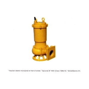 Bomba Sumergible para Agua Sucia Modelo: WQK36-25-5.5