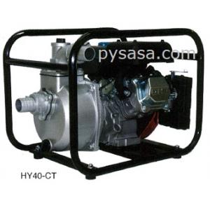 Bomba de Agua Autocebante, con motor a gasolina de 3.5 HP - HY40-CT, 1.5