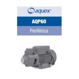 Bomba periférica  Aquex, modelo AQP60, 127Volts, 1/2HP