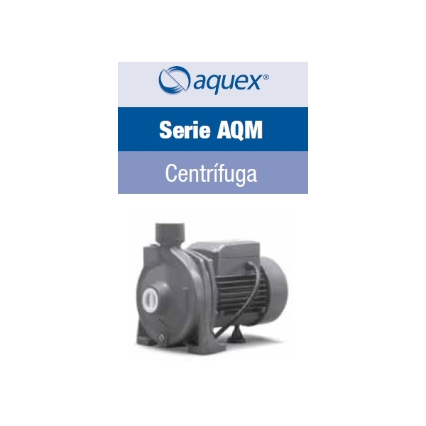 Motobomba Aquex AQM100, de 1 HP, 115Volts