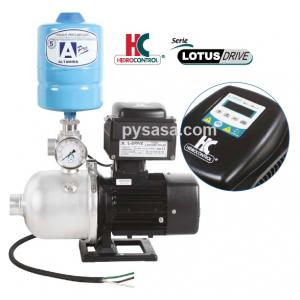 Presurizador LOTUS-DRIVE, LOTUSD100-4/MT230, 1.2Hp, 230Volts, 115 Lpm