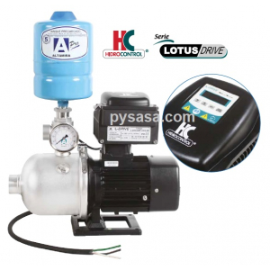 Presurizador LOTUS-DRIVE, LOTUSD200-2-1/MT230, 2.0Hp, 230Volts, 250 Lpm