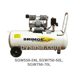 Compresor libre de aceite Shimge modelo: SGW750-70L