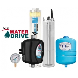 Presurizador Compacto Sumergible AQUAPAK, MAXDRIVE85-48, 1Hp, 230Volts, 1Fase, 100 Lpm