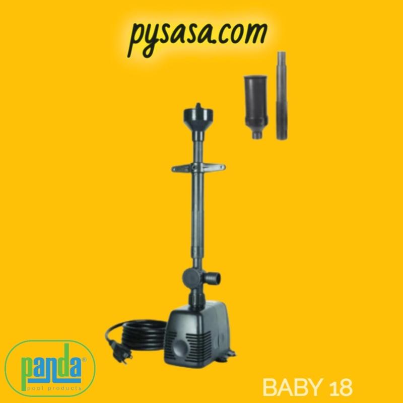 Bomba Sumergible transmisión magnética, marca PANDA modelo BABY18, 127Volts, 40Watts