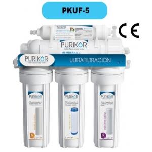 Sistema de Ultrafiltración Purikor, para punto de uso (POU), modelo PKUF-5