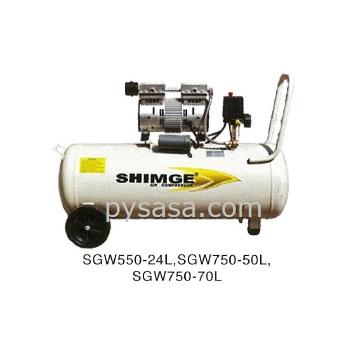 Compresor libre de aceite shimge modelo sgw550 24l for Aceite para compresor