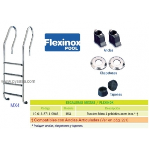 Escalera Mixta Flexinox