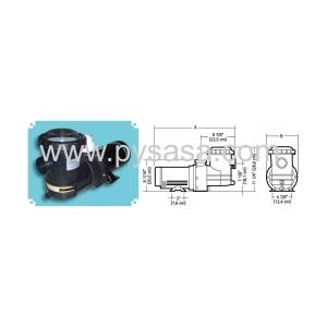 Motobomba SLR 1 HP, Modelo S1LR6  - Jacuzzi