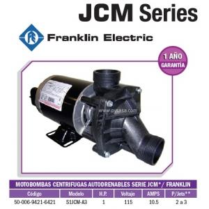 Motobomba JCM 1HP, Modelo S1JCM-A3 - Franklin Electric