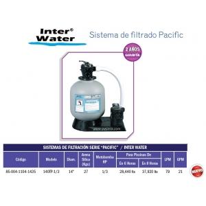 Sistema de filtrado Pacific 14
