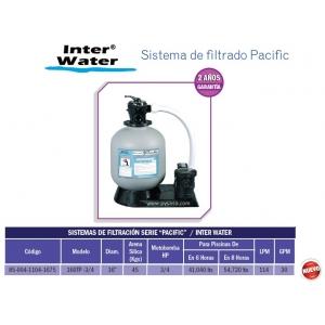 Sistema de filtrado Pacific 16