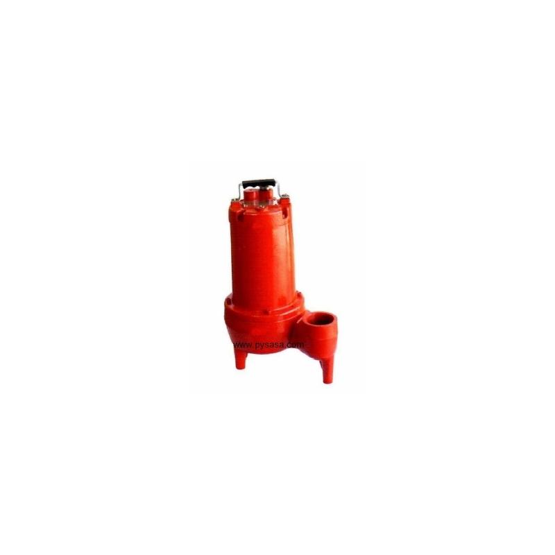 Bomba Sumergible Mono Canal para Agua Sucia Modelo: 50WQP0.75-4P