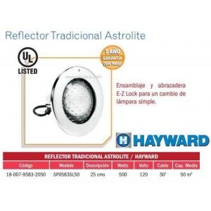 Reflector Tradicional Astrolite . Modelo. SP0583SL50. HAYWARD
