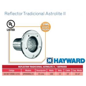 Reflector Tradicional Astrolite II. Modelo. SP0590SL15. HAYWARD