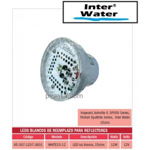 LED de Remplazo de Alta Intensidad White15-12, marca Inter Water