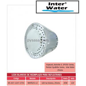 LED de Remplazo de Alta Intensidad White25-12, marca Inter Water