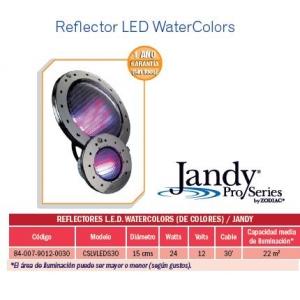 Reflector LED WaterColors. Modelo CSLVLEDS30. Jandy