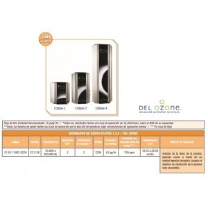 Generador de ozono Serie Eclipse. Modelo EC-2-26. DEL OZONE