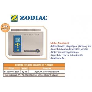 Control Integral Aqualink Z4. Modelo ZQ-4Pi. Zodiac