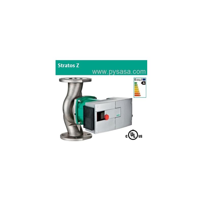 Circulador Sanitario de Rotor Húmedo con variador de velocidad integrado Wilo Stratos Z 1.25 x 3-25, 1/8HP, en Acero Inoxidable