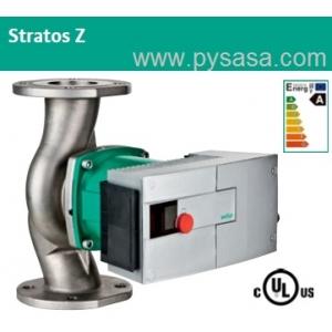 Circulador Sanitario de Rotor Húmedo con variador de velocidad integrado Wilo Stratos Z 3 x 3-30, 1 HP, en Acero Inoxidable