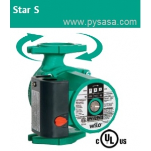 Circulador de Rotor Húmedo Wilo Star S 21 FX, 1/12HP