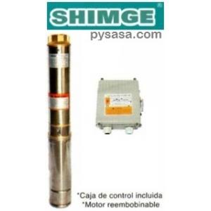 Bomba Sumergible para Pozo Profundo, tipo Lapicero SHIMGE, 4SGm2/4-A, 1/2HP, 127V