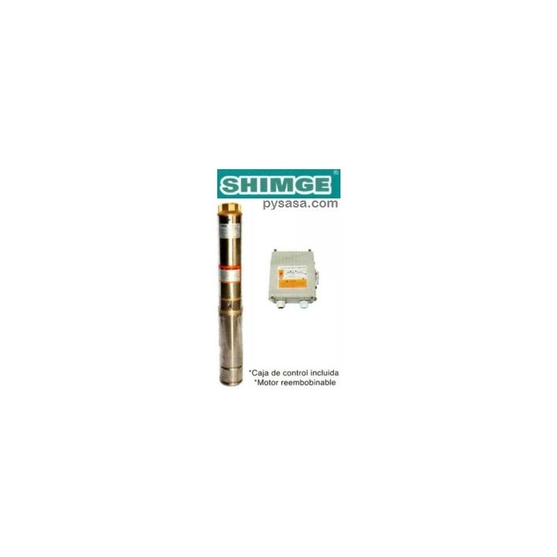 Bomba Sumergible para Pozo Profundo, tipo Lapicero SHIMGE, 4SGm2/7-A, 3/4HP, 127V
