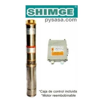 Bomba sumergible para pozo profundo tipo lapicero shimge for Bomba de agua para pozo