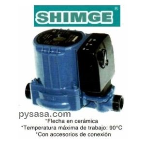 Bomba Presurizadora  SHIMGE, ZP15-9-160, 1/6 Hp, 127 Volts