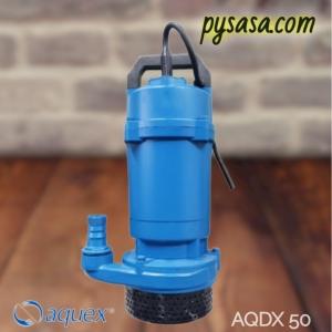 Motobomba sumergible AQUEX modelo AQDX50, 1/2Hp, 115Volts