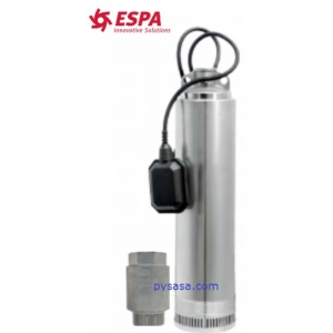 Motobomba Sumergible Marca ESPA Serie Aquaria, 1.2Hp, 220Volts