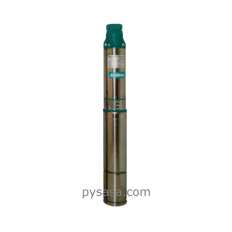 Bomba Sumergible para Pozo Profundo, tipo Lapicero SHIMGE, 4SEm2/13-1.1, 1.5 HP, 127 V