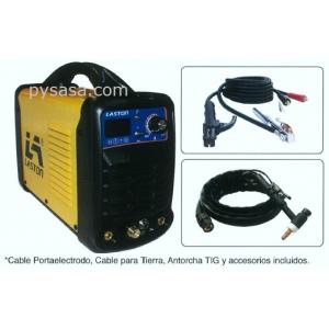 Soldadora tipo Inversor por Arco de Gas para TIG marca LASTON modelo TIG/MMA-200R, 1 Fase,  127/220 Volts