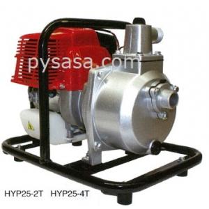 Bomba de Agua Autocebante, con motor a gasolina, Pequeña y portátil de 2 HP - HYP25-2T, 1