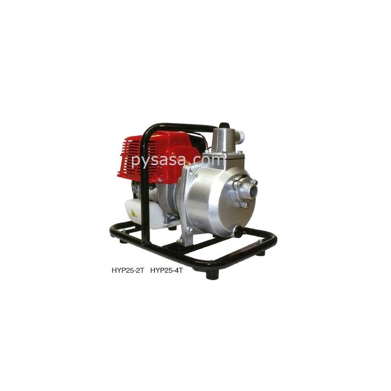 Bomba de Agua Autocebante, con motor a gasolina, Pequeña y portátil de 2.5 HP - HYP25-4T, 1