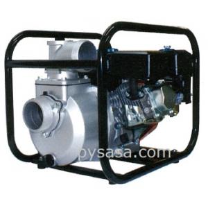 Bomba de Agua Autocebante, con motor a gasolina de 13 HP - HY100-CT, 4