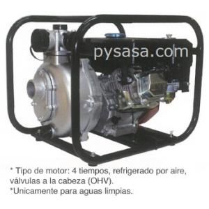 Bomba de Agua Autocebante, con motor a gasolina de 7 HP - HY-CGHP50, 2