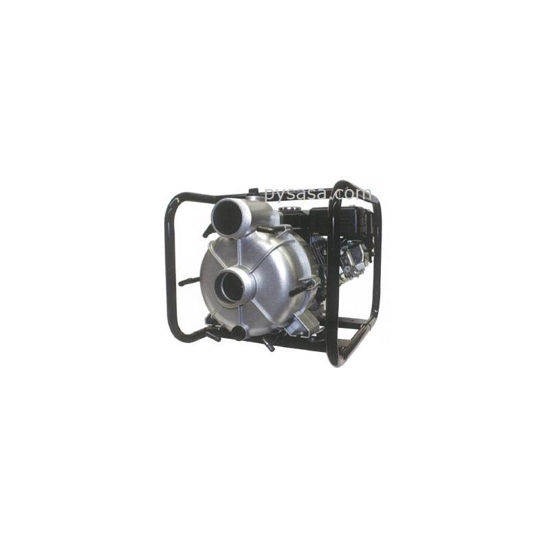 Bomba de Agua Autocebante, con motor a gasolina para manejo de sólidos, de 7 HP - HYDP80, 3