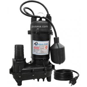 Bomba sumergible para Achique marca Aqua Pak, 1/2Hp, 115Volts