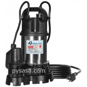 Bomba sumergible para Achique marca Aqua Pak, 3/4Hp, 115Volts
