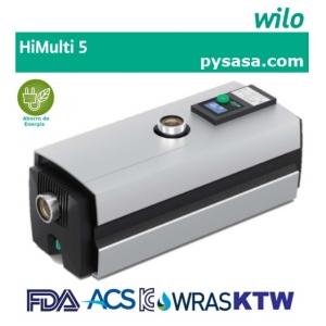 Sistema de presión constante HiMulti5, marca WILO,  1Hp, 1 Fase, 220 Volts.