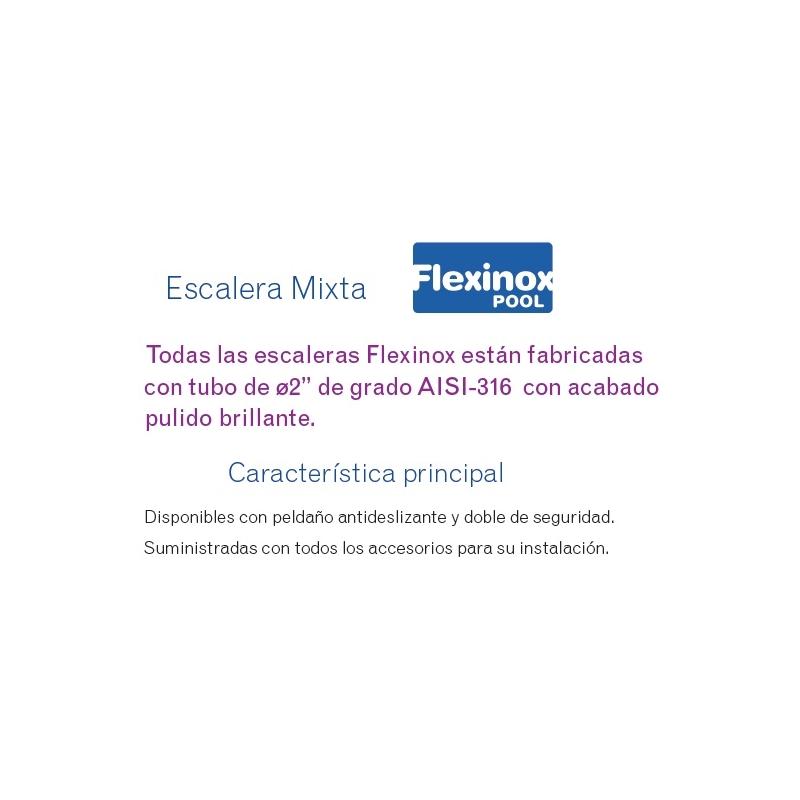 Escalera Mixta Flexinox